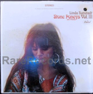 linda ronstadt - stoney poneys vol. III u.s. lp