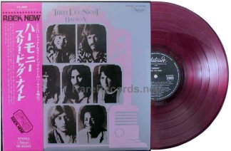 three dog night - harmony red vinyl japan LP