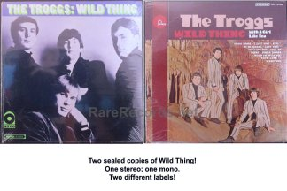 troggs - wild thing two different u.s. lps