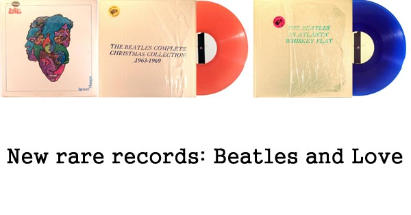rare records - beatles, love forever changes