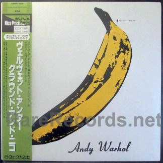 Velvet Underground & Nico - Japan LP