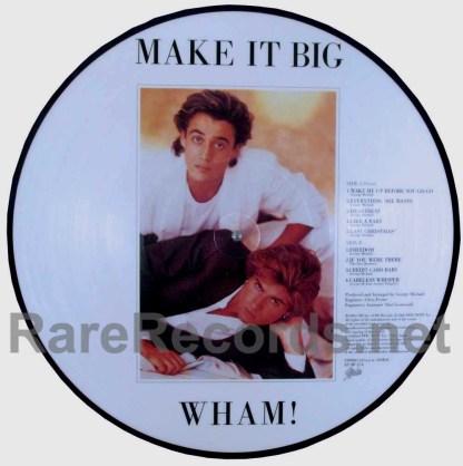 wham! - make it big japan picture disc lp