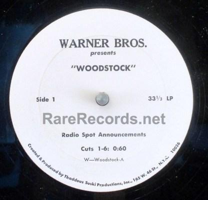 woodstock u.s. radio spots lp