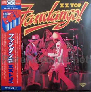 zz top - fandango japan lp