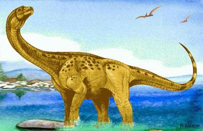Antarctosaurus Dinosaur