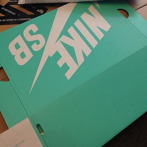 Is Nike SB Set to Enter The Tiffany Colored Box Era