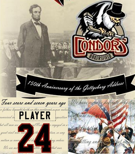 Minor League Hockey Team Will Wear Gettysburg Address