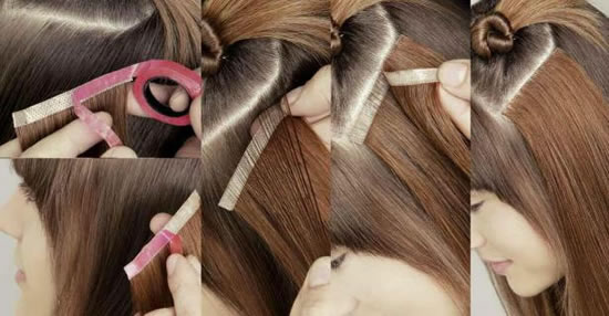 Tape In Hair Extensions RAW Unprocessed Virgin Remy