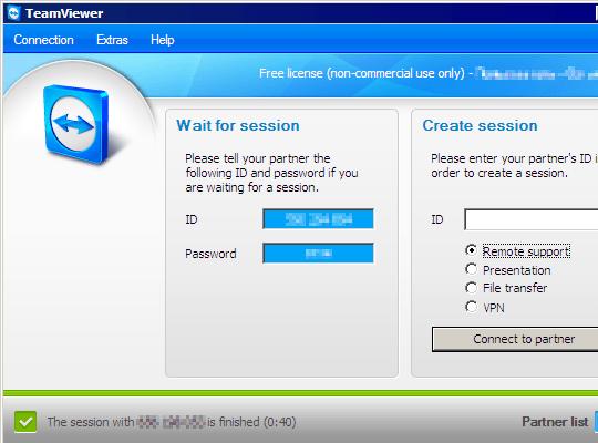 Interface Mac Teamviewer