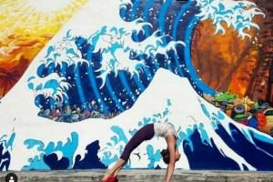 Yoga et Street Art