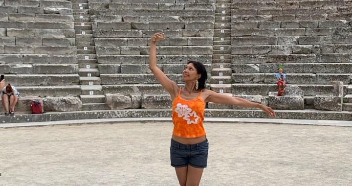 Épidaure, le théâtre !
