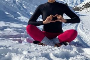 Yoga neige, complément à l'hiver❄️