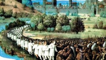 Европска пљачка Београда, Земуна и Ниша или Први крсташки рат