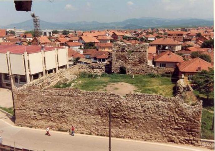 Вучитрн – Војиновића кула и Војиновића мост