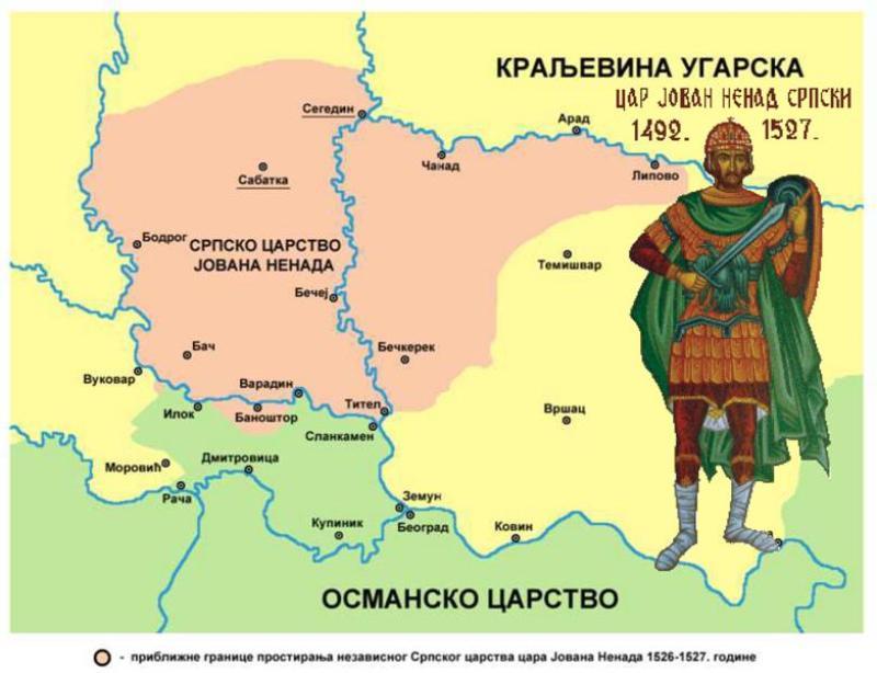Јован Ненад: последњи српски цар и утемељивач идеје српске Војводине 1