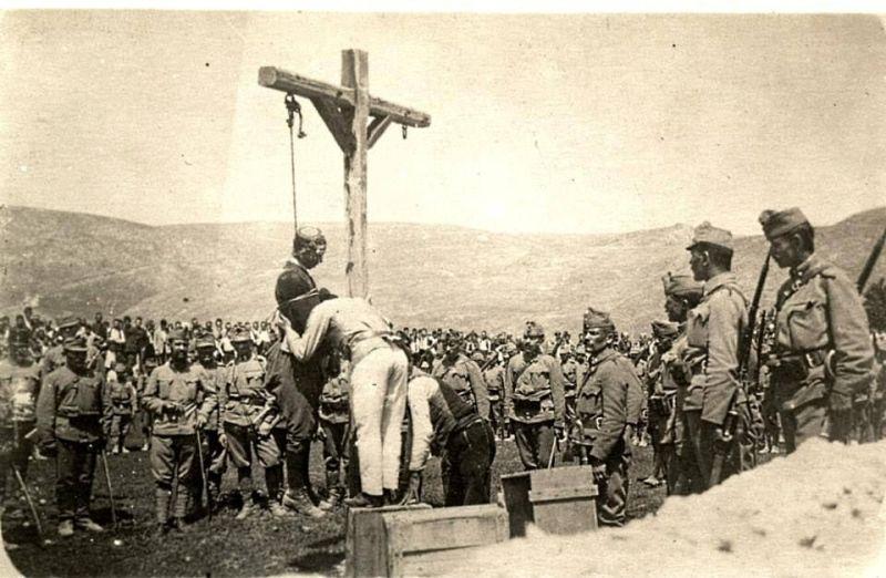 Austrougarski zločini - vešanje u Srbiji u decembru 1014.