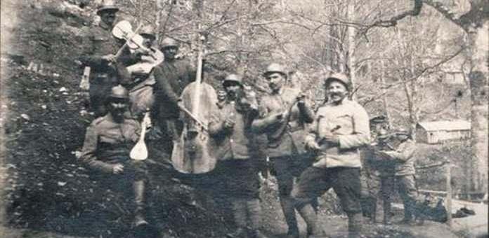 Први светски рат, музика