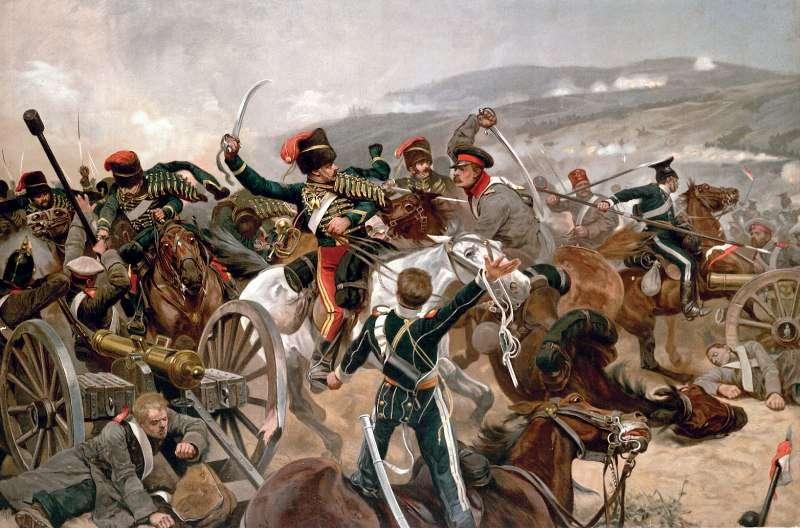 Ричард Кейтон Вудвиль. Балаклавское сражение. 1897