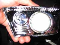 Power Wheels LED Headlight install