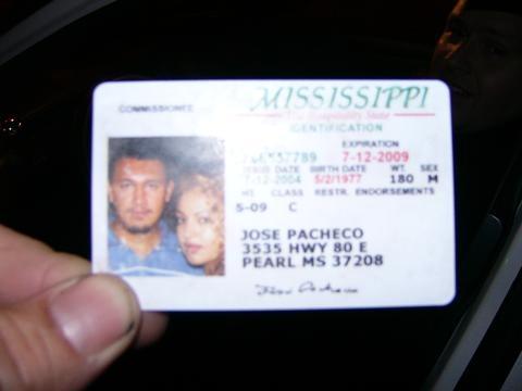 Fake ID Fail