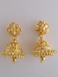 9 Best 4 Gram Gold Earrings Designs For 2018 India ...
