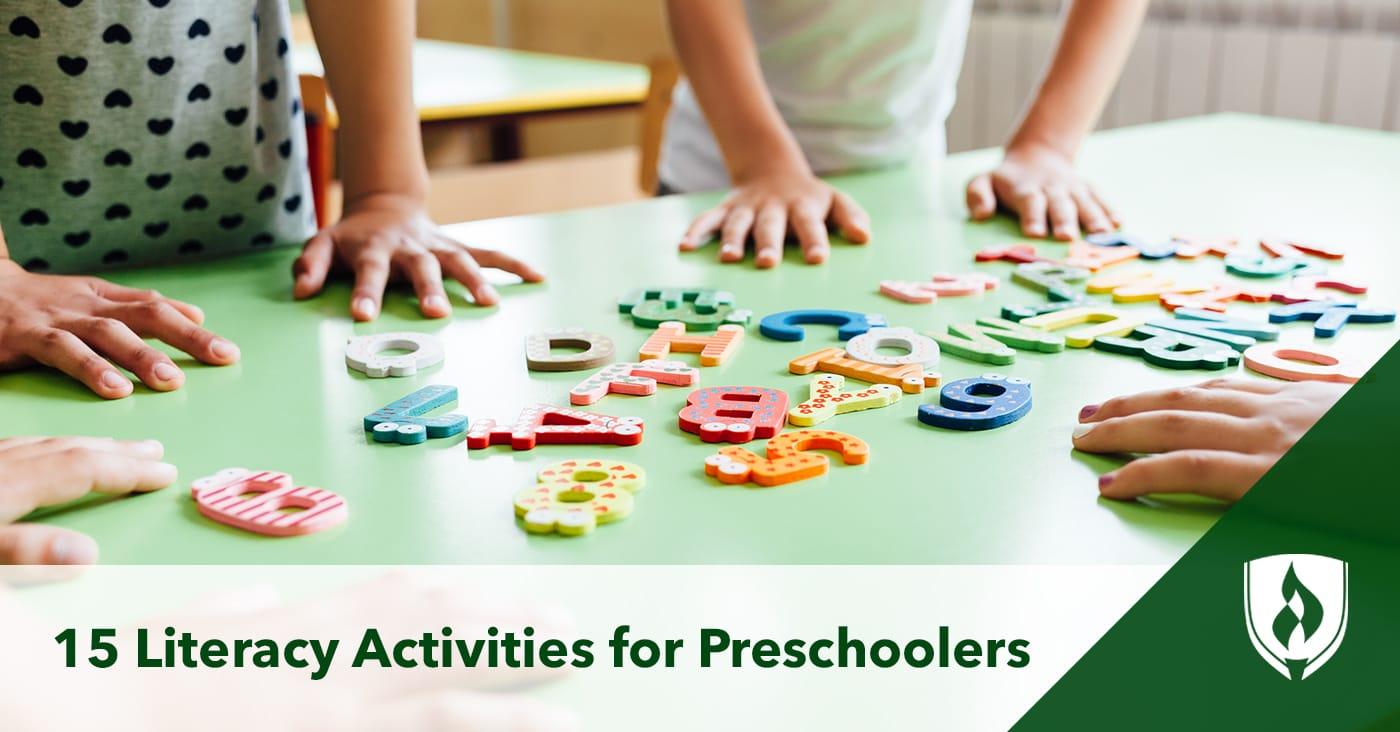 15 Literacy Activities For Preschoolers