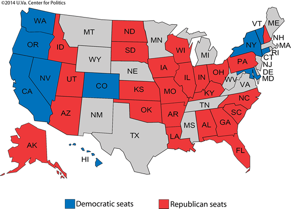 Image result for democrat vs republican map 2016