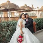 الكاتب الصحفى هاني سمير يهنئ المرتل هدرا زغلول وعروسه بزفافهما