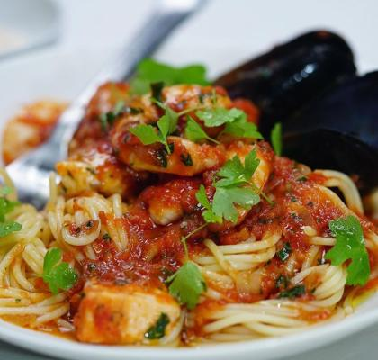 Seafood Marinara Recipe