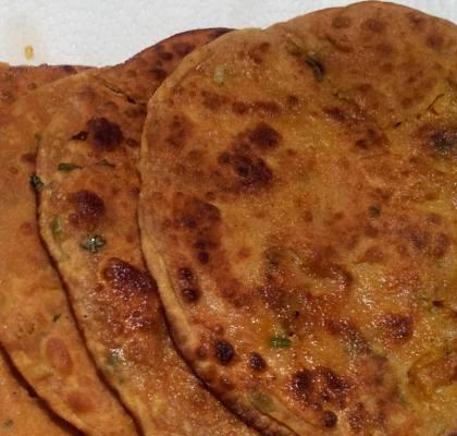 Banarasi Paratha Recipe