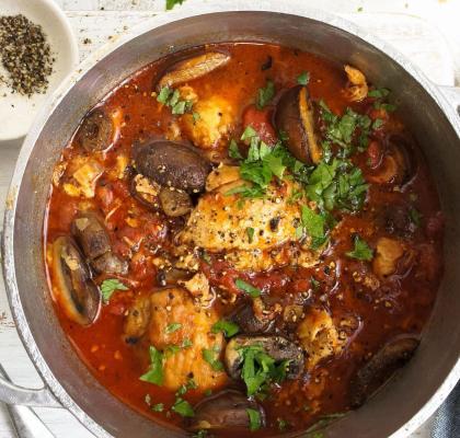 Chicken in a Pot Recipe