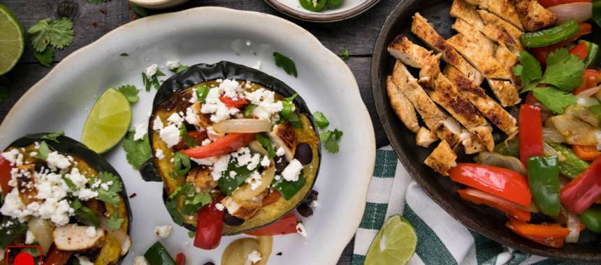 Chicken Fajita Stuffed Peppers Recipe
