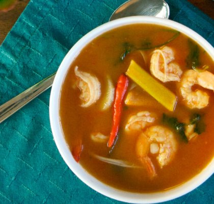 Hot and Sour Prawn Soup Recipe by rasoi menu