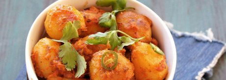 lasaniya batata recipe by rasoi menu