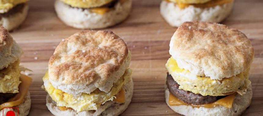 Egg In A Biscuit Recipe