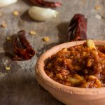 Red Garlic Chutney
