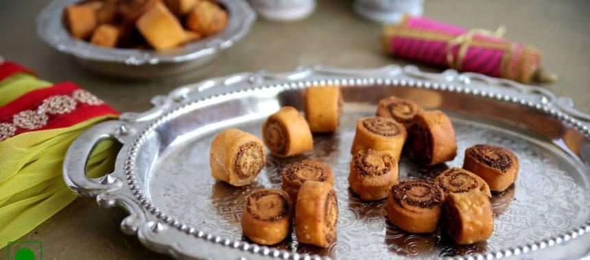 Dry Bhakarwadi Recipe