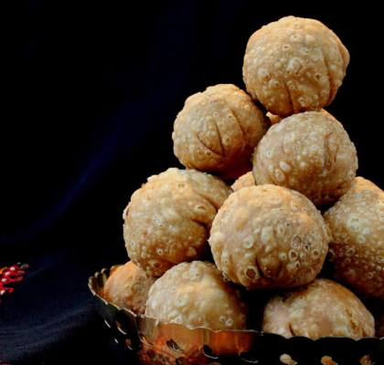 dry fruit kachori recipe by rasoi menu