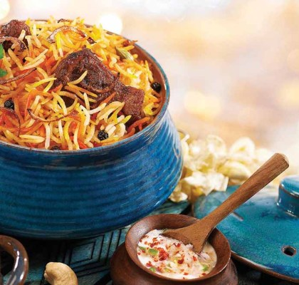 Special Hyderabadi Mutton Biryani Recipe by Rasoi Menu