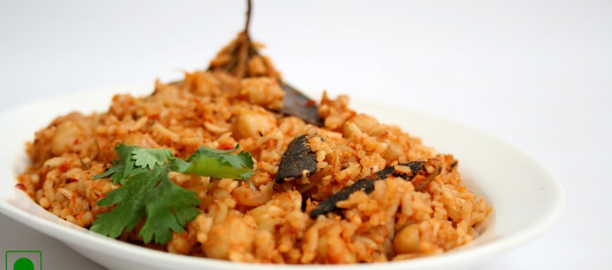 Chana Pulao Recipe