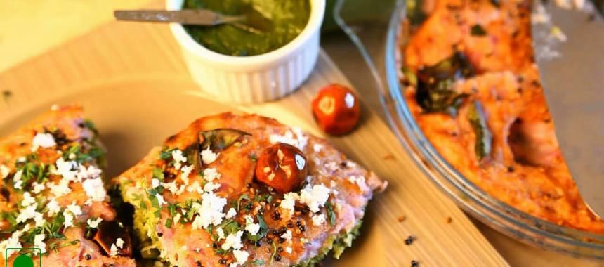 Farali Handvo Recipe