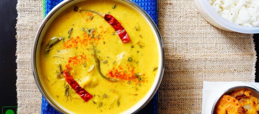 Singhare Ki Kadhi Recipe