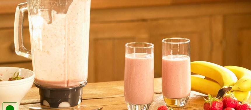 Strawberry Banana Shake Recipe