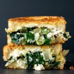 Green Grilled Cheese Sandwich