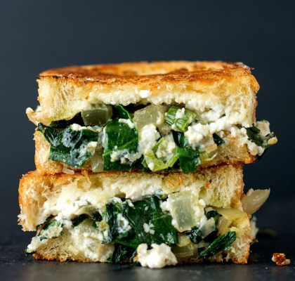 green grilled cheese sandwich recipe by rasoimenu