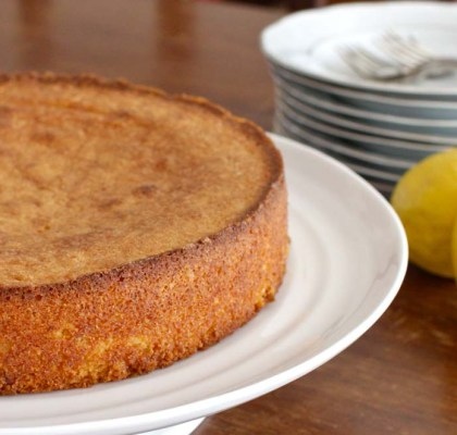 almond lemon cake recipe by rasoi menu