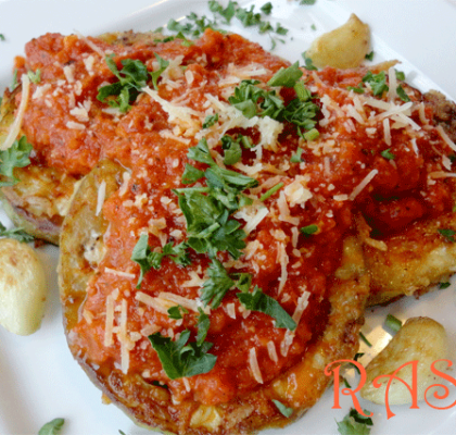 Baked Eggplantl in Tomato Sauce Recipe