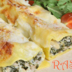 Cheesy Salmon Cannelloni