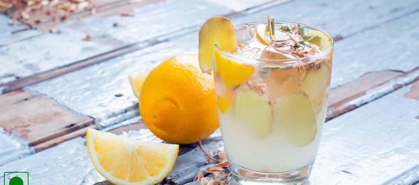 Ginger Punch Mocktail Recipe