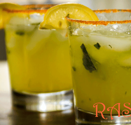 Mango Ginger Iced Tea Recipe